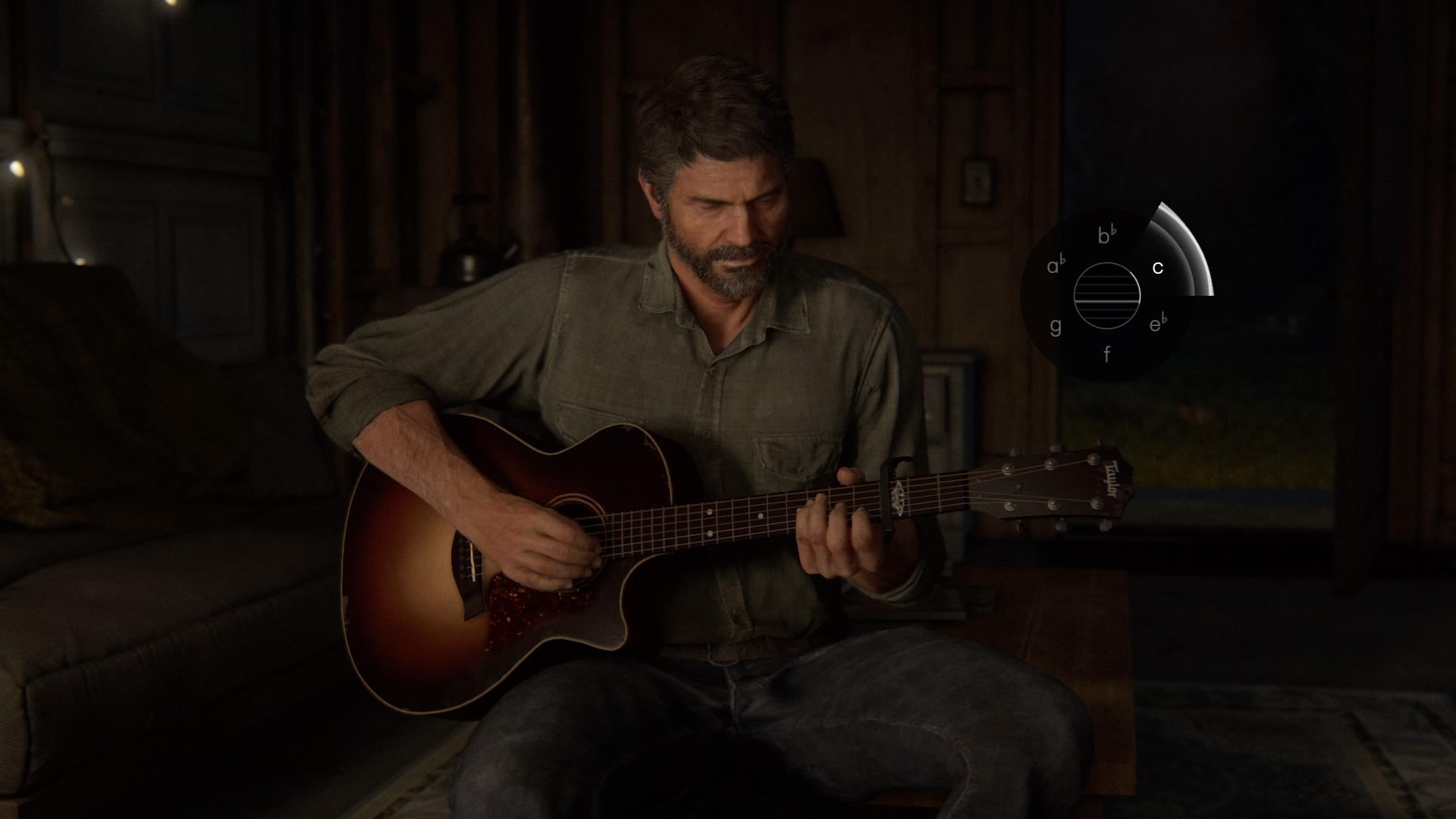 ギターのミニゲーム