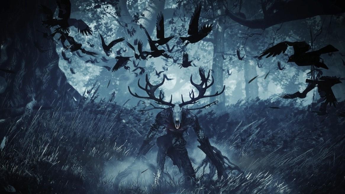 森に潜むレーシェン